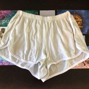 Mint green brandy Melville shorts